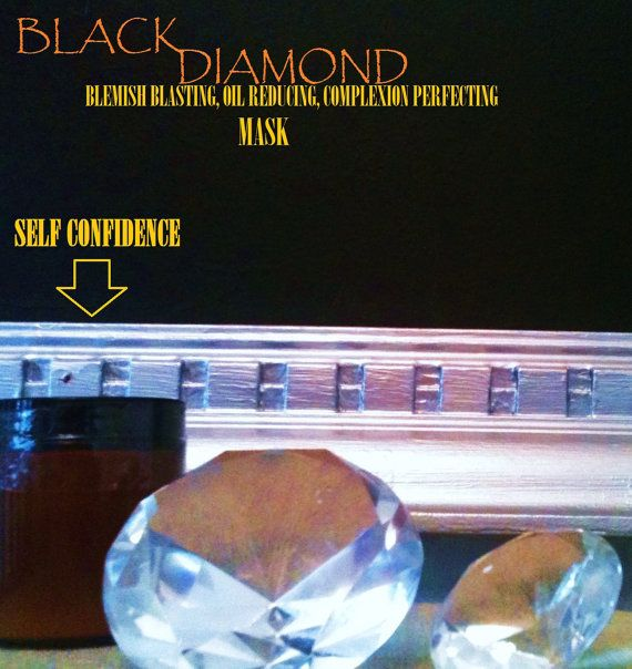 You can finally buy self confidence!  Black Diamond Self Confidence in a jar.  Powerful by RareSkincare, $19.50