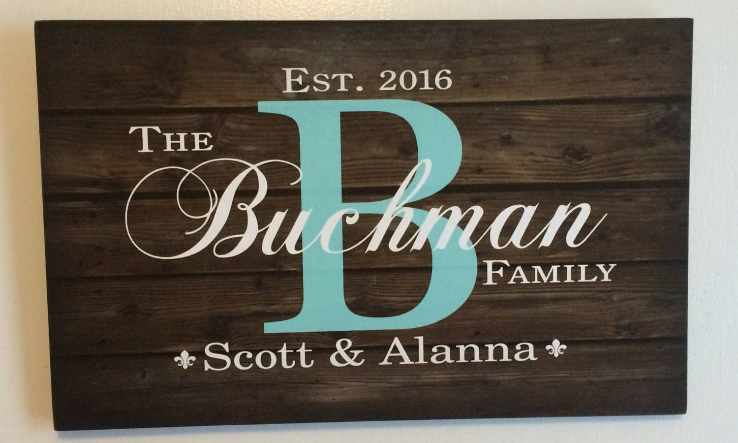 Mr and mrs wedding anniversary signs woodworking creation by