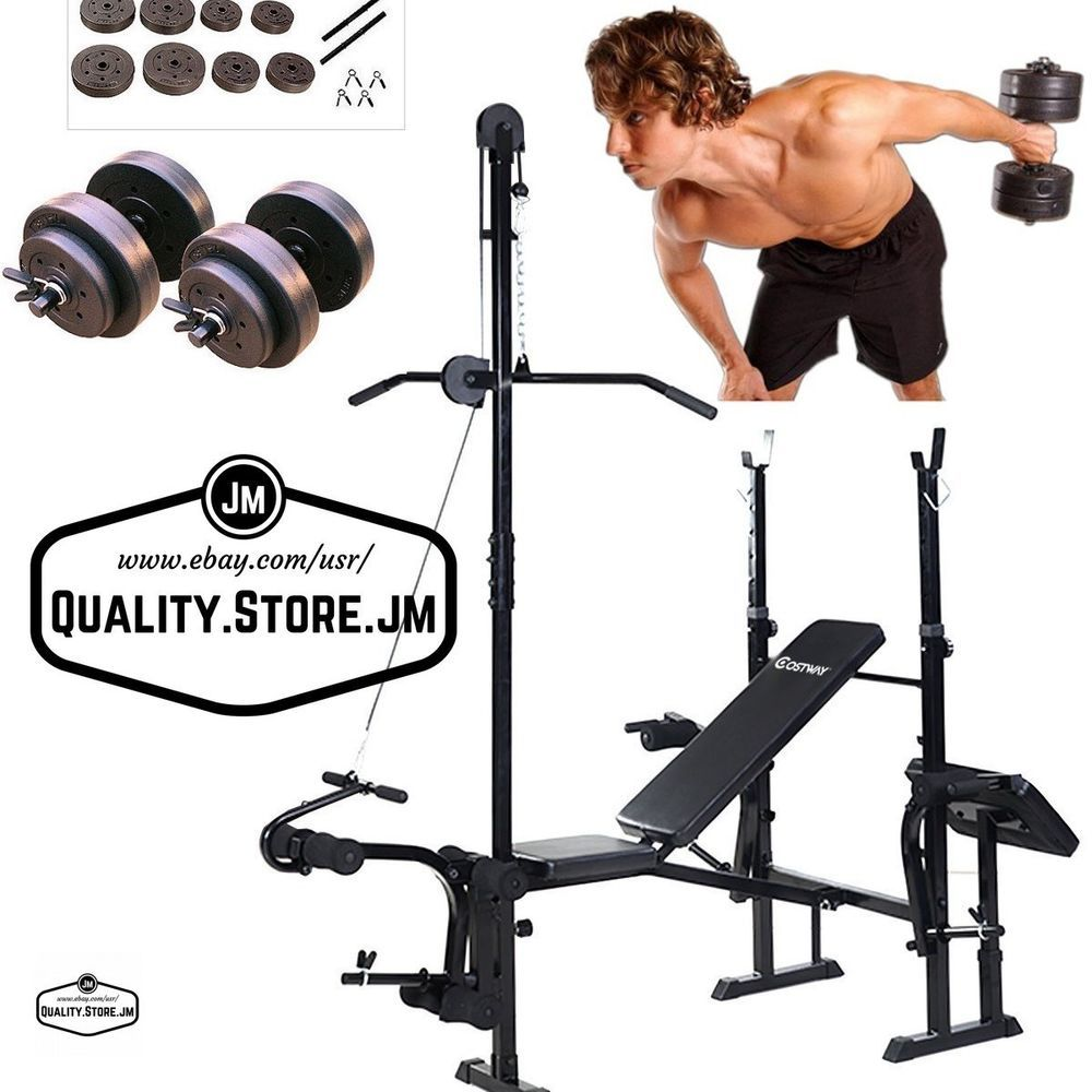 Bench Press Weight Benches Adjustable Set Folding Portable Compact Workout Gym Bench Press Weights Bench Press Weight Benches