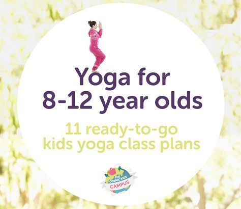 yoga class plans for 812 year olds in this download