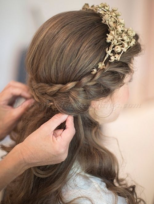 Fashionable Wedding Hairstyles for Little Bridesmaid, 80+ Cute ...
