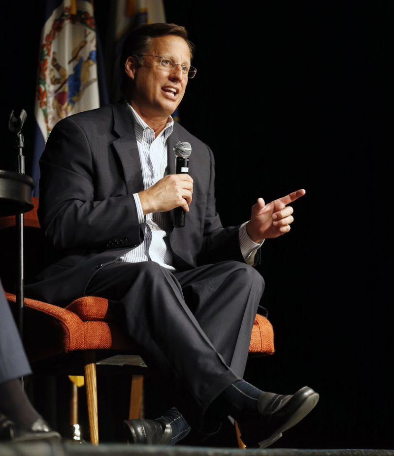 MIDLOTHIAN, Va. (AP) — Critics of Republican U.S. Rep. Dave Brat and the House health care bill he voted for packed a raucous town hall meeting in his Virginia district Tuesday night, booing and shouting down the congressman from start to finish.