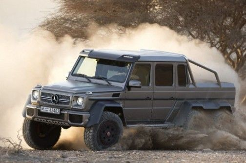 Mercedes G63 AMG 6×6 2013 Review, Specs, Pictures