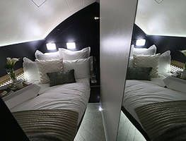 Etihad offers bed and bath suites
