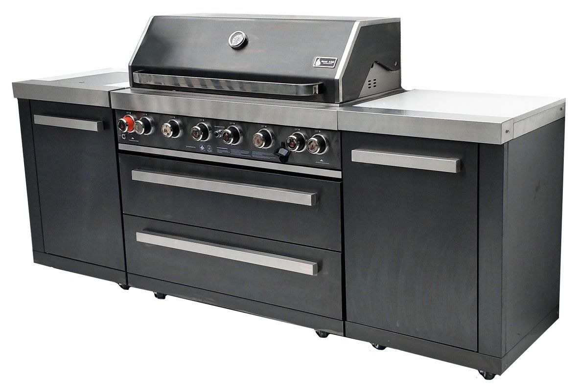 93 8 Burner Propane Natural Gas Bbq Island Outdoor Gas Grills Gas Grill Natural Gas Bbq