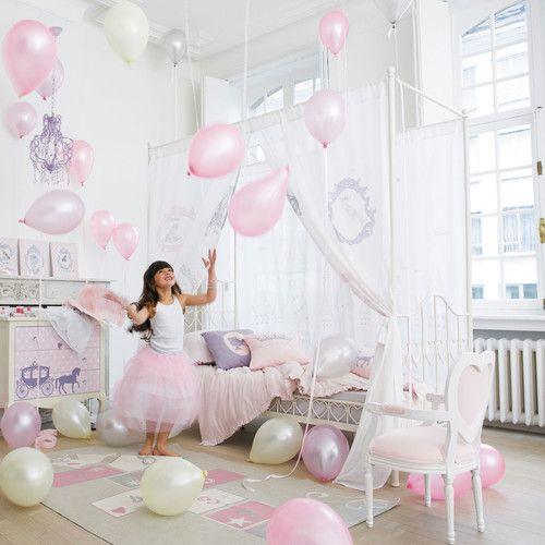 Rideau enfant lit à baldaquin Princesse | Maisons du Monde ...
