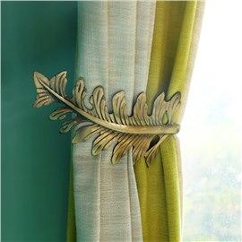 Curtain Accessories Rods With Hooks Online Beddinginn Com Leaf Curtains Curtains Holdbacks Curtains