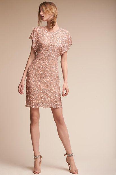 Rose Gold Elin Dress | BHLDN | Guest
