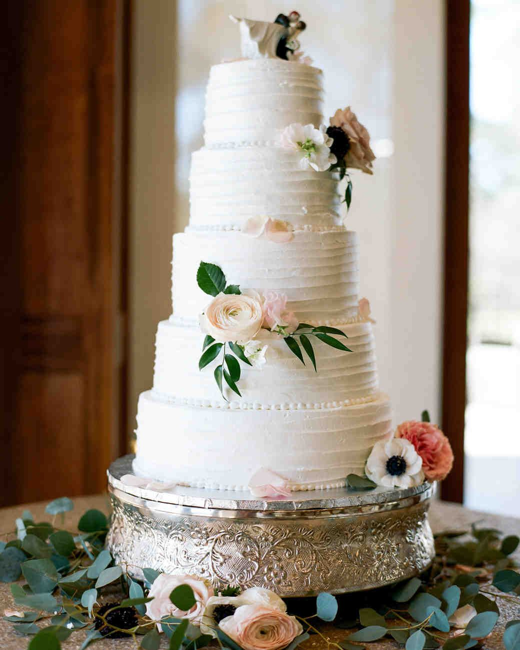 36 Of The Best Wedding Cake Toppers We Ve Ever Seen Martha Stewart Weddings If You L Wedding Cake Fresh Flowers Wedding Cake Decorations Cool Wedding Cakes