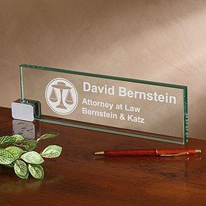 Law Office Engraved Desk Name Plate Personalized Desk Name Plate Personalized Name Plates Personalized Desk