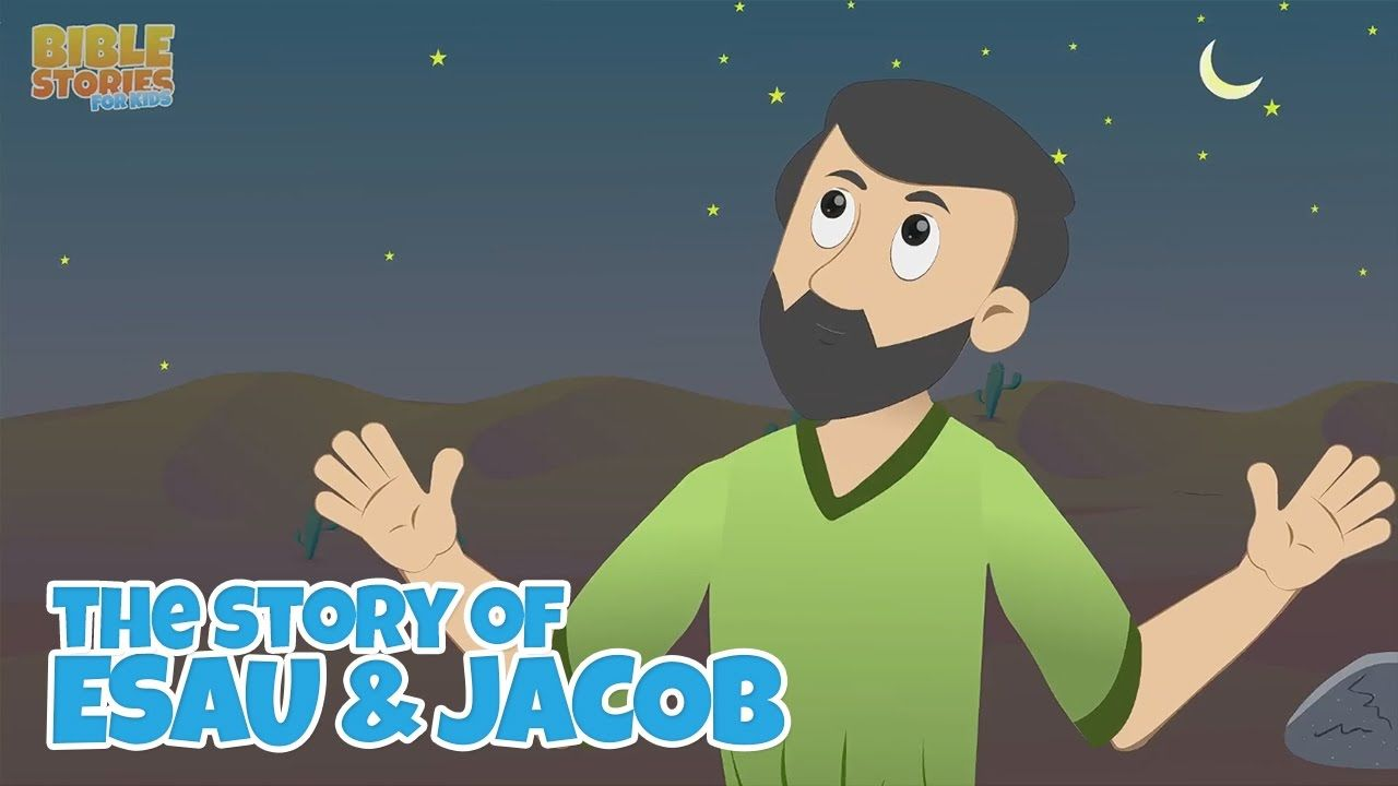 Jacob\'s Dream at Bethel! -Bible Stories For Kids! | Jacob\'s Ladder ...