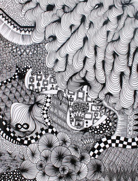 Zentangle By Student Artist S Name Lindsay Smithberg School