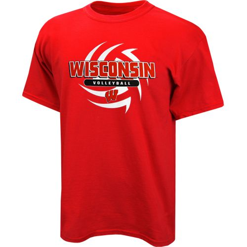 4900876 2 Jpg 500 500 Wisconsin Badgers Apparel Volleyball T Shirt Designs Wisconsin Apparel