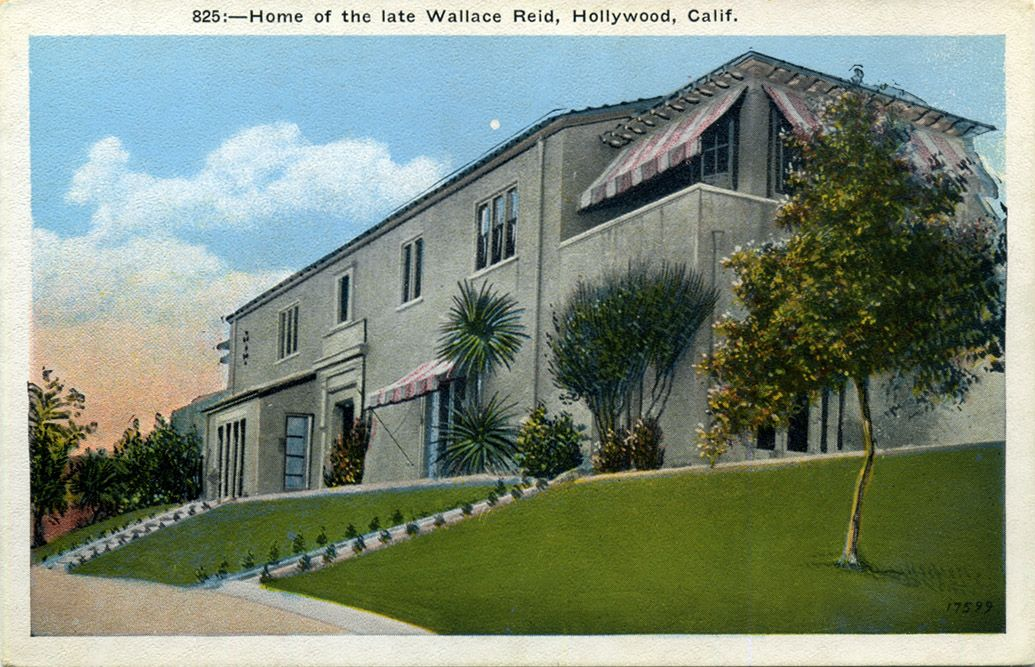 Home of silent film actor Wallace Reid Hollywood homes
