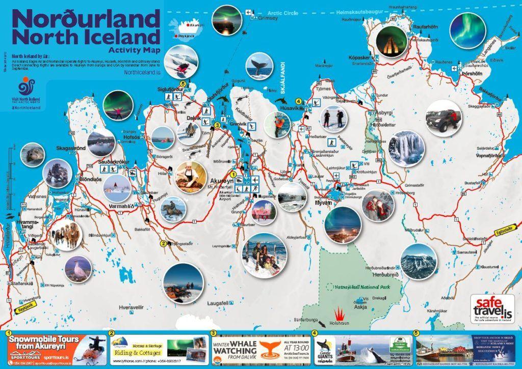 Mapas De Islandia Mapa De Islandia Islandia Mapa Turistico