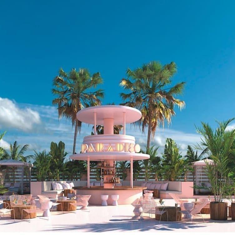 Yesss Back To Ibiza Next Week And Back Shooting At Paradiso Ibiza Third Shoot This Year On This Beautiful Hotel Ibiza Art Deco Hotel Miami Art Deco