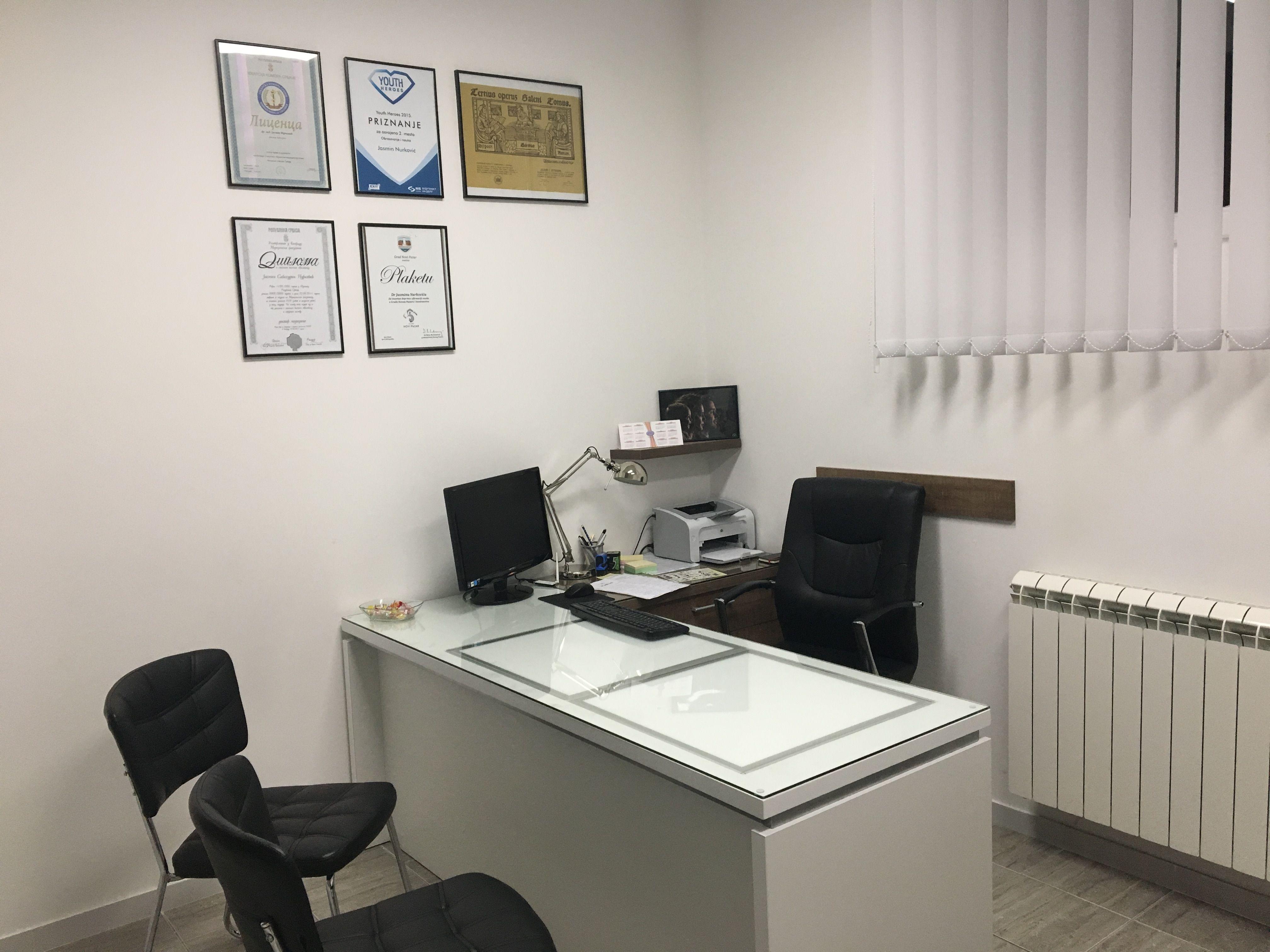 Medical Office Novi Pazar Dr Nurkovic Decor Office Decor Home Decor