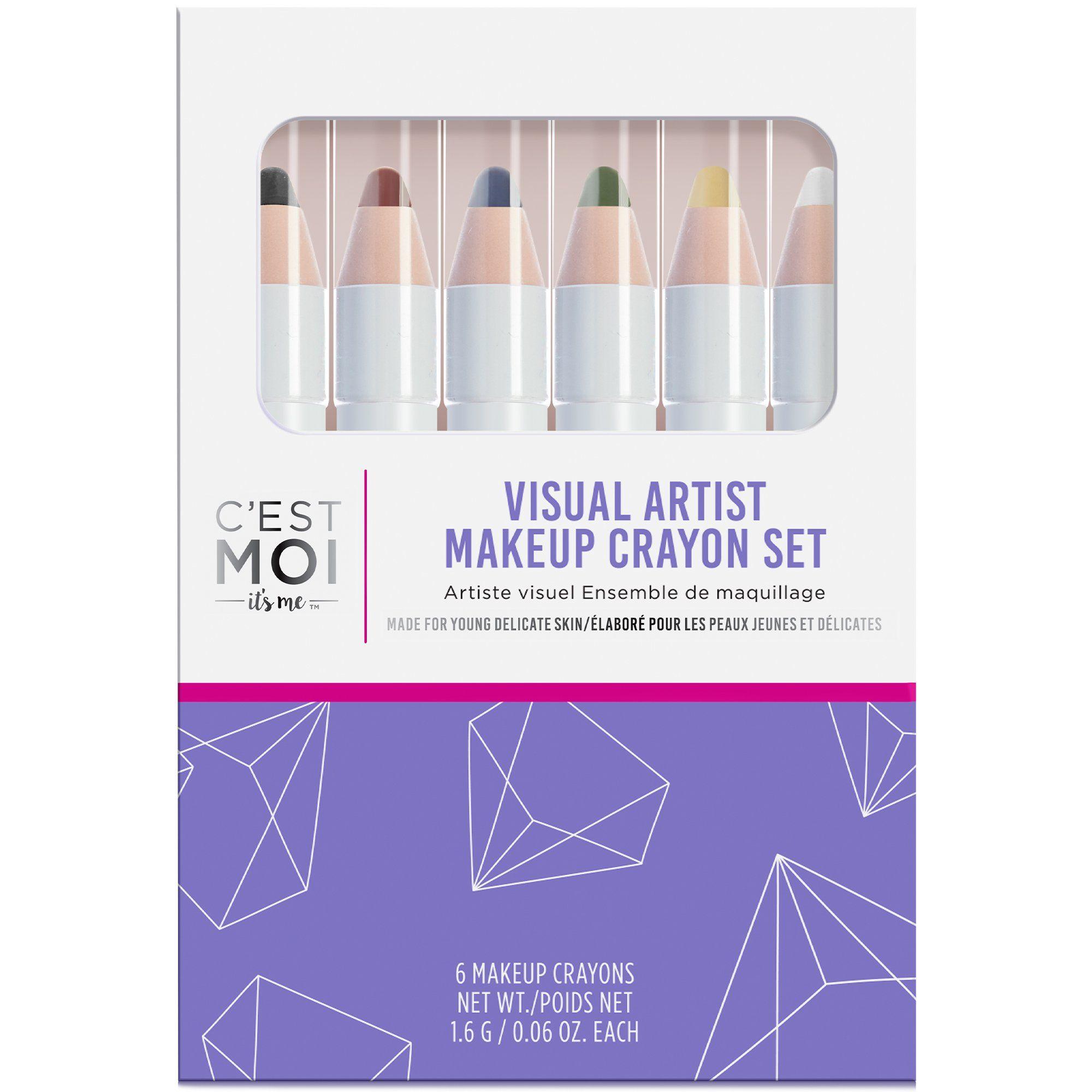 Visual Artist Makeup Crayon Set Gentle makeup remover