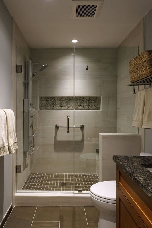 40 Beige And Brown Bathroom Tiles Ideas And Pictures Brown Tile Bathroom Bathroom Remodel Master Bathroom Remodel Shower