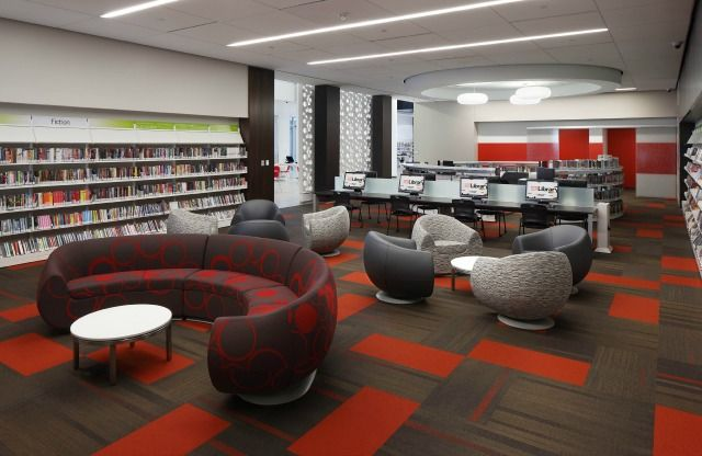 Interior Designer Furniture Installation Waiver ~ Library interior design award winners image