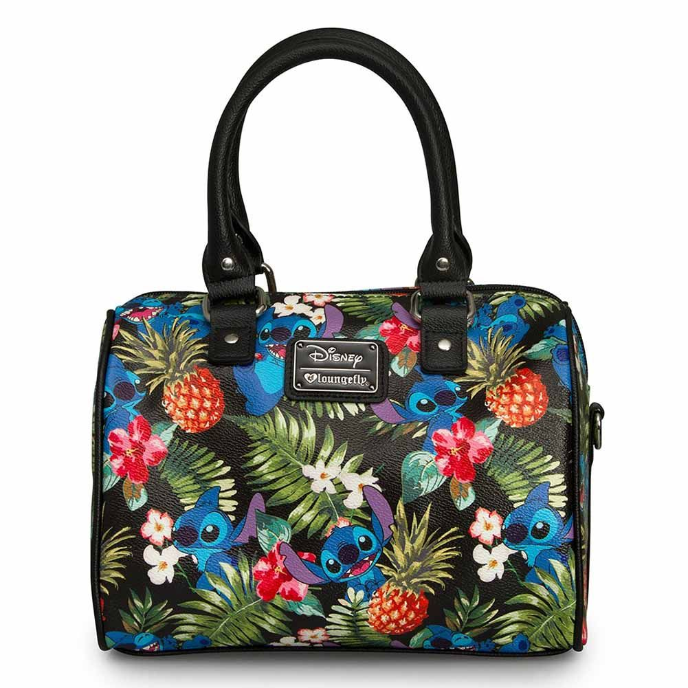 Loungefly X Disney Stitch Hawaiian Pebble Duffle Handbag  2091f4be5be3f