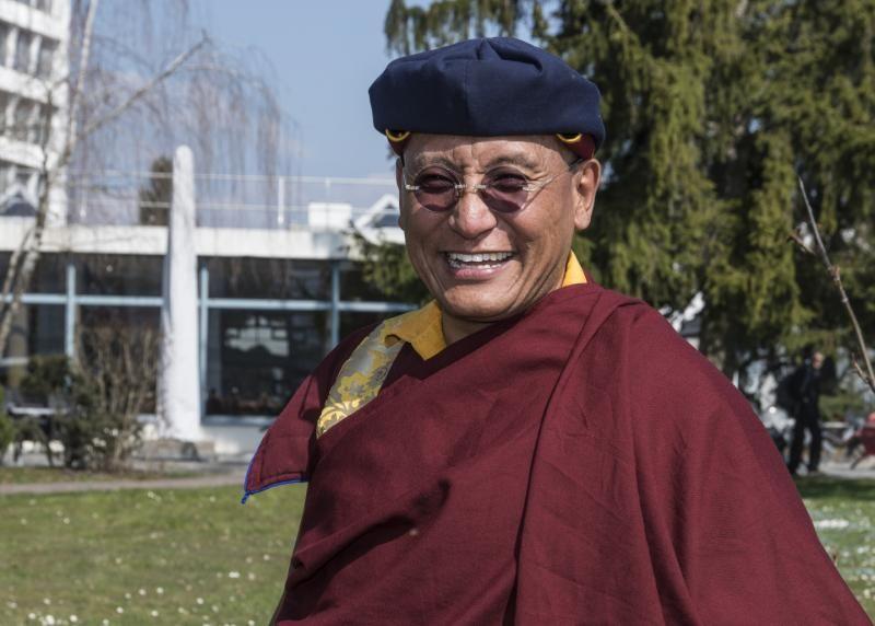Connecting Worlds: Buddhist Master visits CERN   CERN