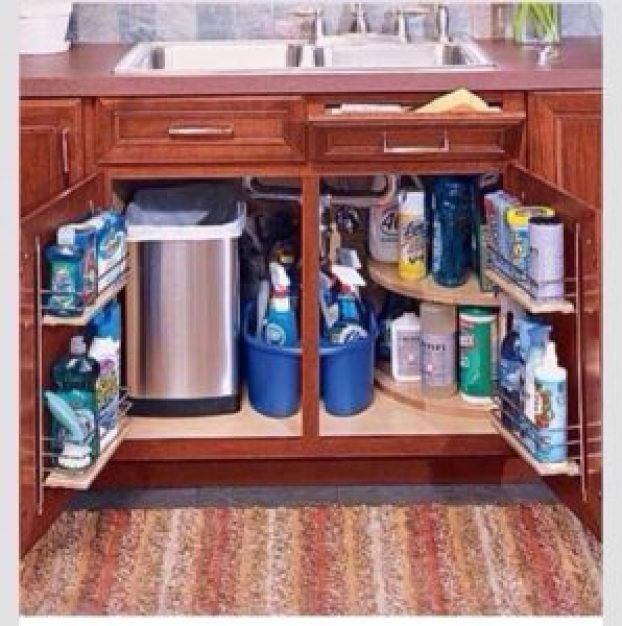 12 Clever Unique Ways To Organize Your Kitchen Home