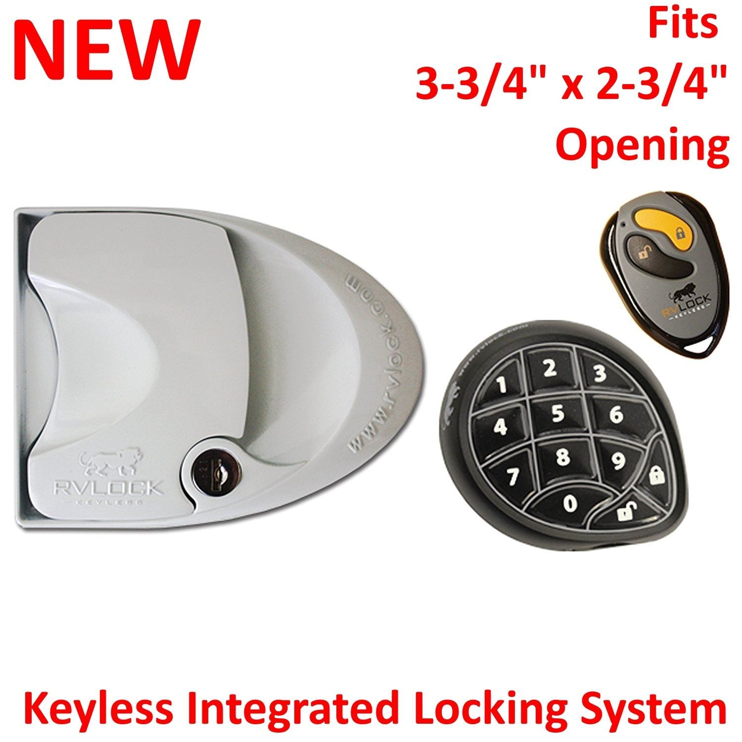 Awesome New Rv Deal With Lock Door Entry Keyless Pad Distant Fob