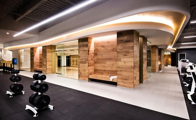 A Former Los Angeles Tv Studio Transforms Into Equinox S New Wellness Gym And Spa Gym Design Interior Equinox Gym Gym Interior