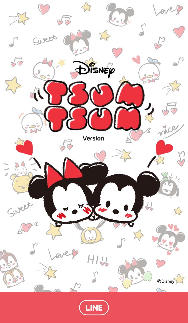 Disney Tsum Tsum Scribbles Tsum Tsum Wallpaper Wallpaper Iphone Disney Disney Tsum Tsum