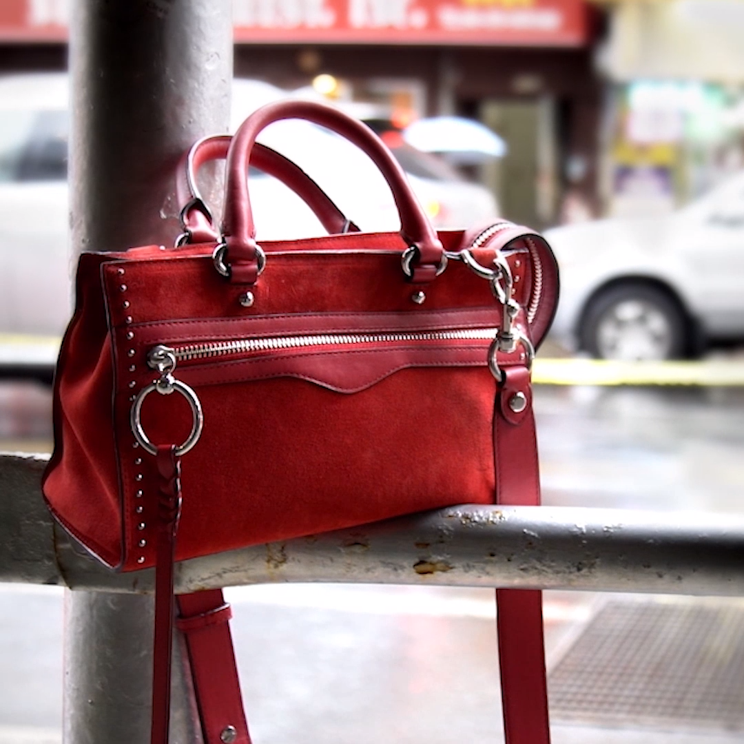 Micro Bedford Zip Satchel in Red   Gifts for Lady Bosses in 2019 ... 38c1f6db11