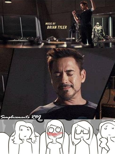 Accurate fangirl reaction to this scene    | Avengers | Iron man