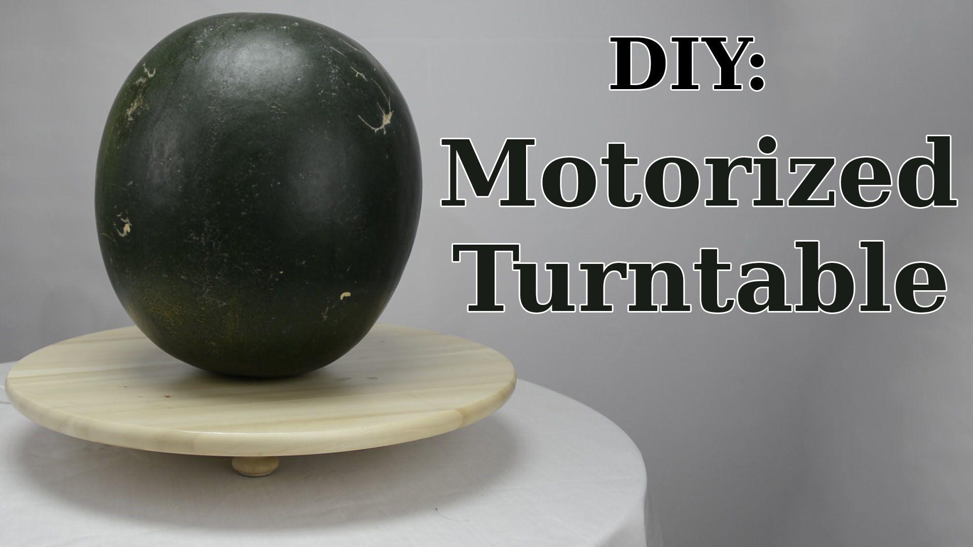 Diy motorized turntable for 12 diy turntable