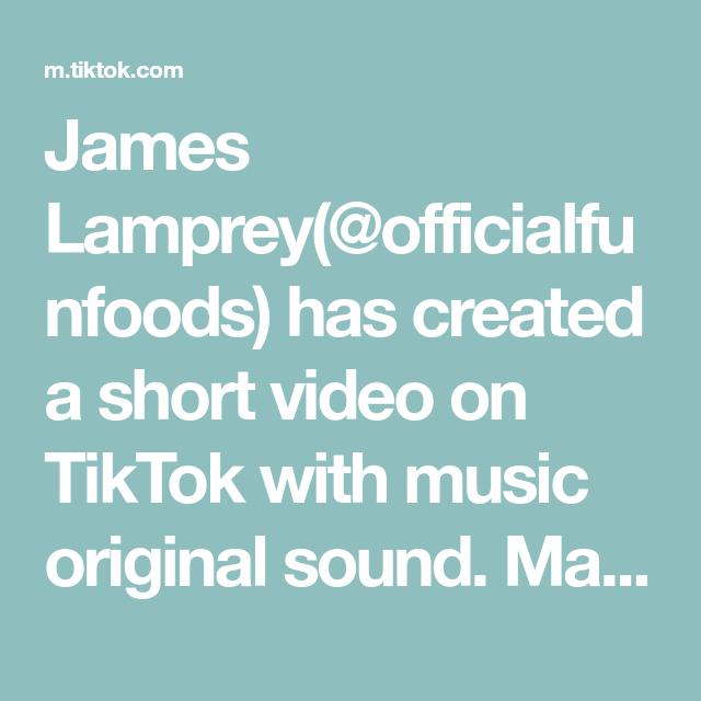 James Lamprey Officialfunfoods Has Created A Short Video On Tiktok With Music Original Sound Making Skit Cooking Tutorials Taste The Rainbow Smooth Operator