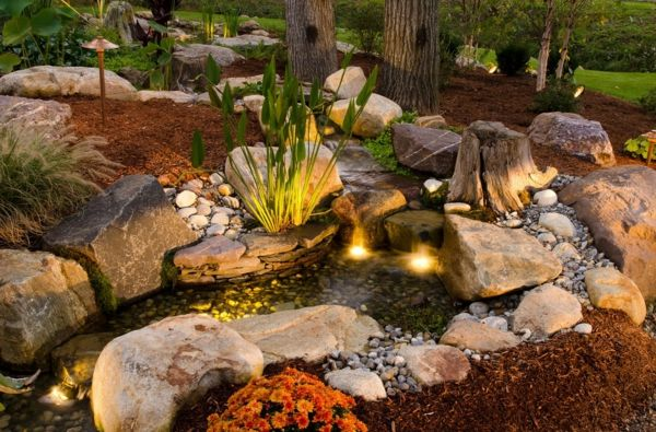 Coole Wasser Garten Ideen   Wasser In Der Schönen Landschaft