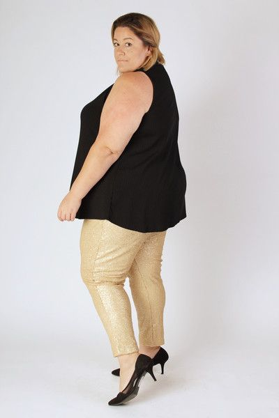 Plus Size Clothing for Women - Fancy Pants in Gold (Sizes 14 - 32 ...