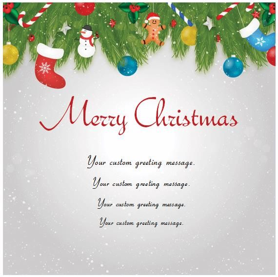 Message On Christmas Card Christmas Card Templates For Microsoft Word Christmas Note Cards Christmas Card Template Christmas Note