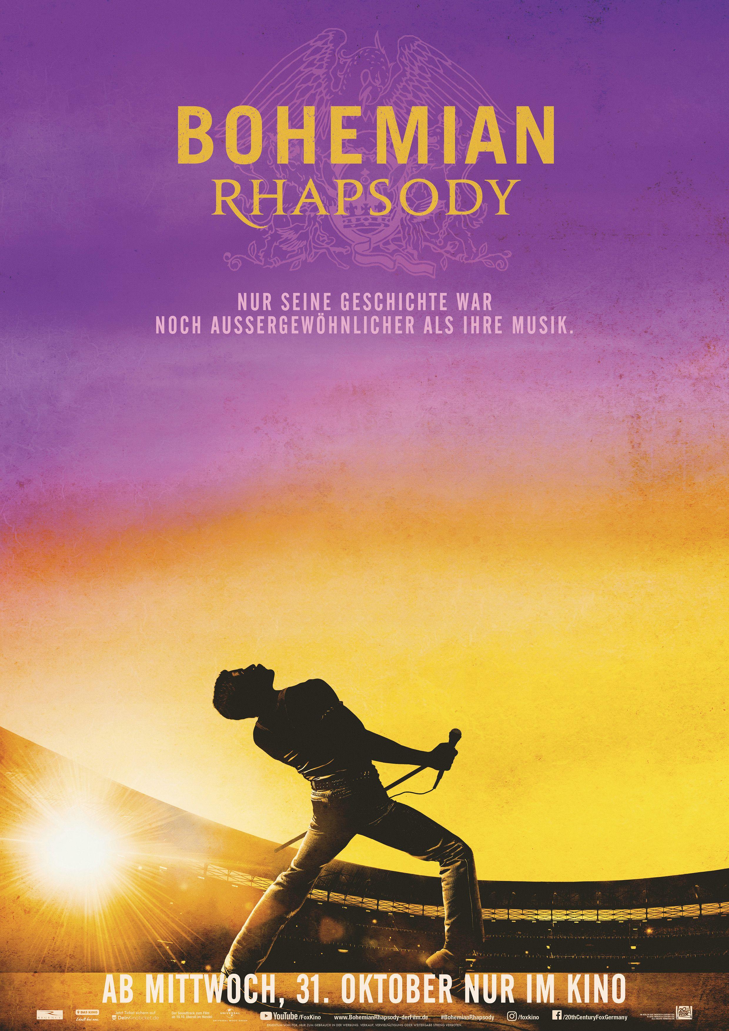 Bohemian Rhapsody Blu Ray Dvd Soundtrack Bücher Mit Preis