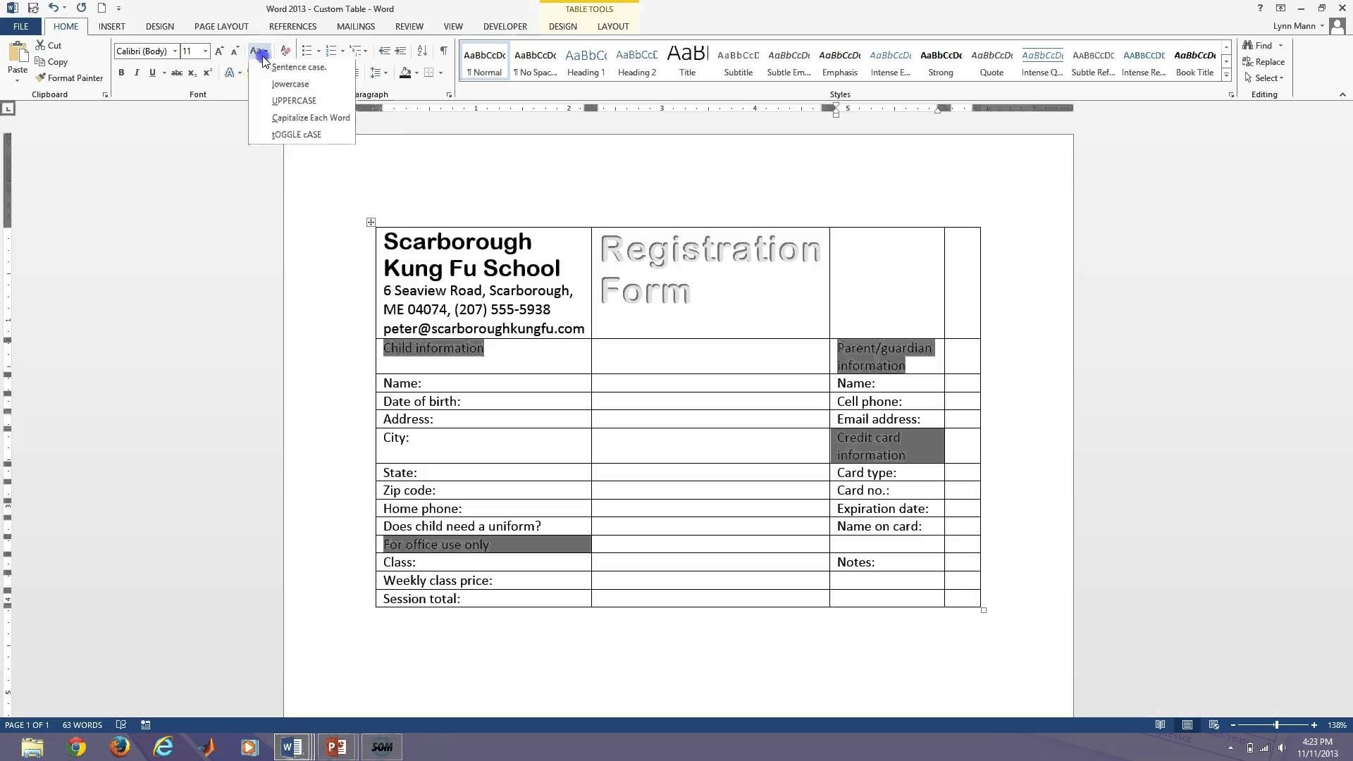 Word  Fillable Forms  Microsoft Office