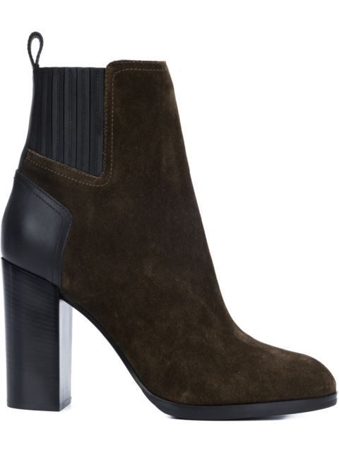 Sergio Rossi Leather Ankle Boots Gr. IT 36 9R1Kk