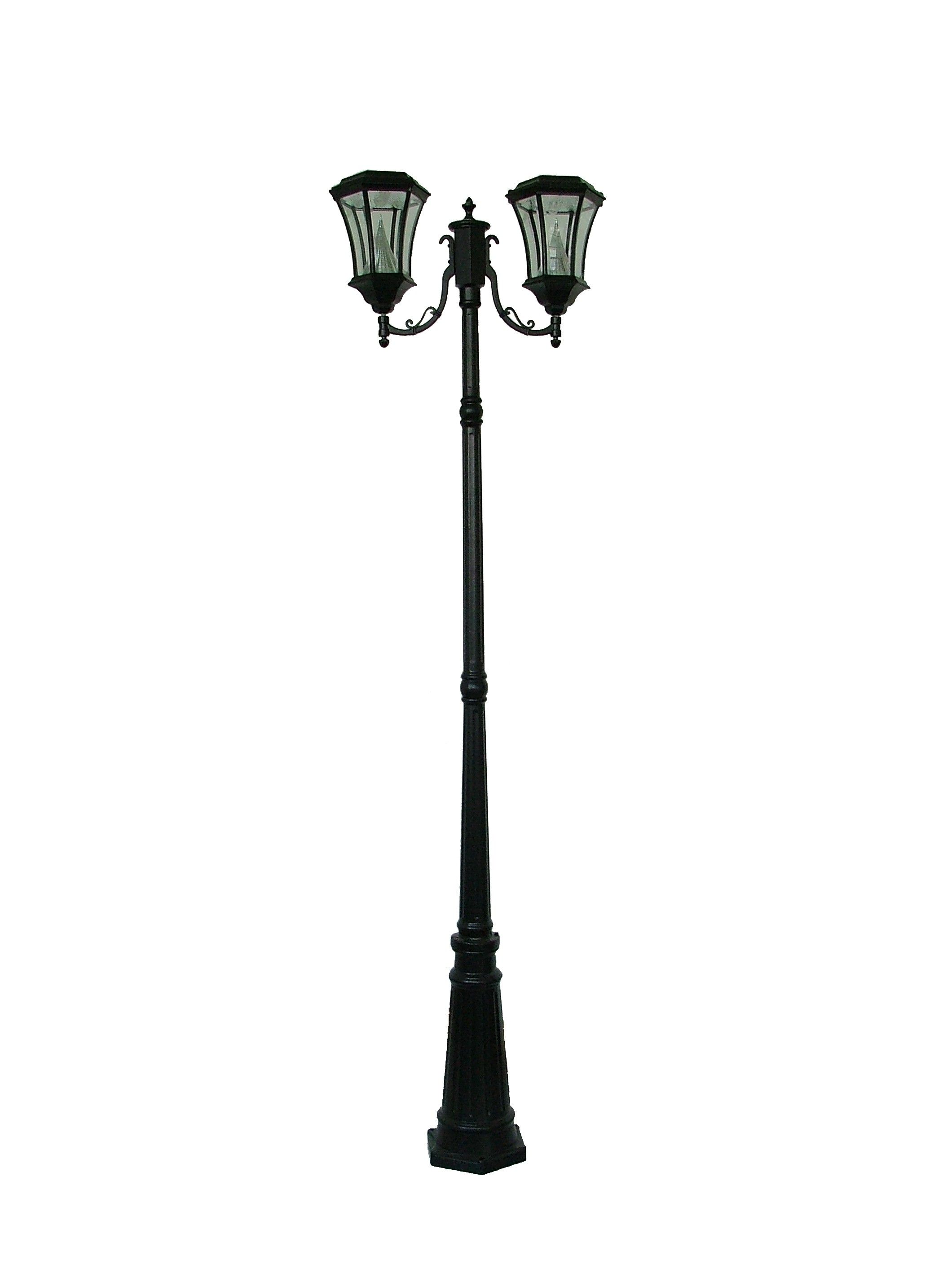 Solar Lamp Post Comes In Triple Or Single As Well Our 7 High Solar Powered Traditional Styled Lamp Posts Are In High De Solar Lamp Post Solar Lamp Lamp Post