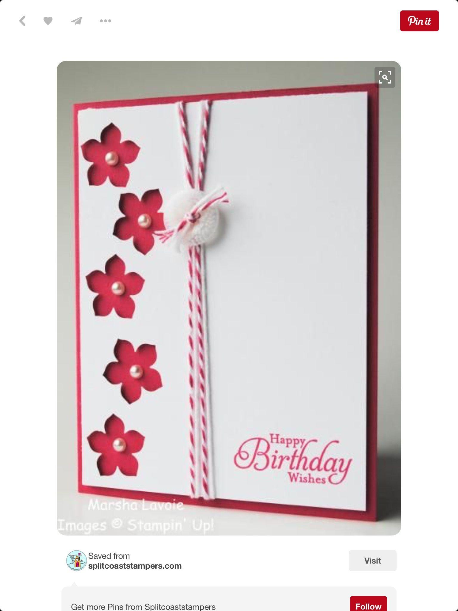 Pin by alda milam on birthday pinterest cards birthday cards