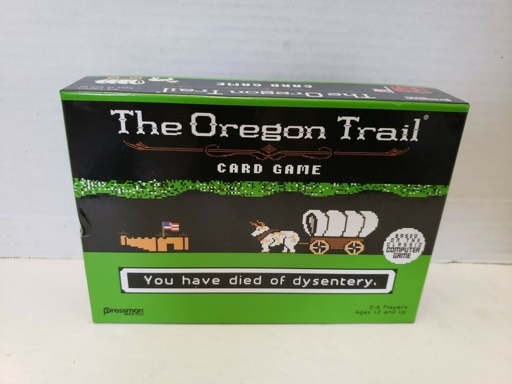 Details about the oregon trail card game by pressman