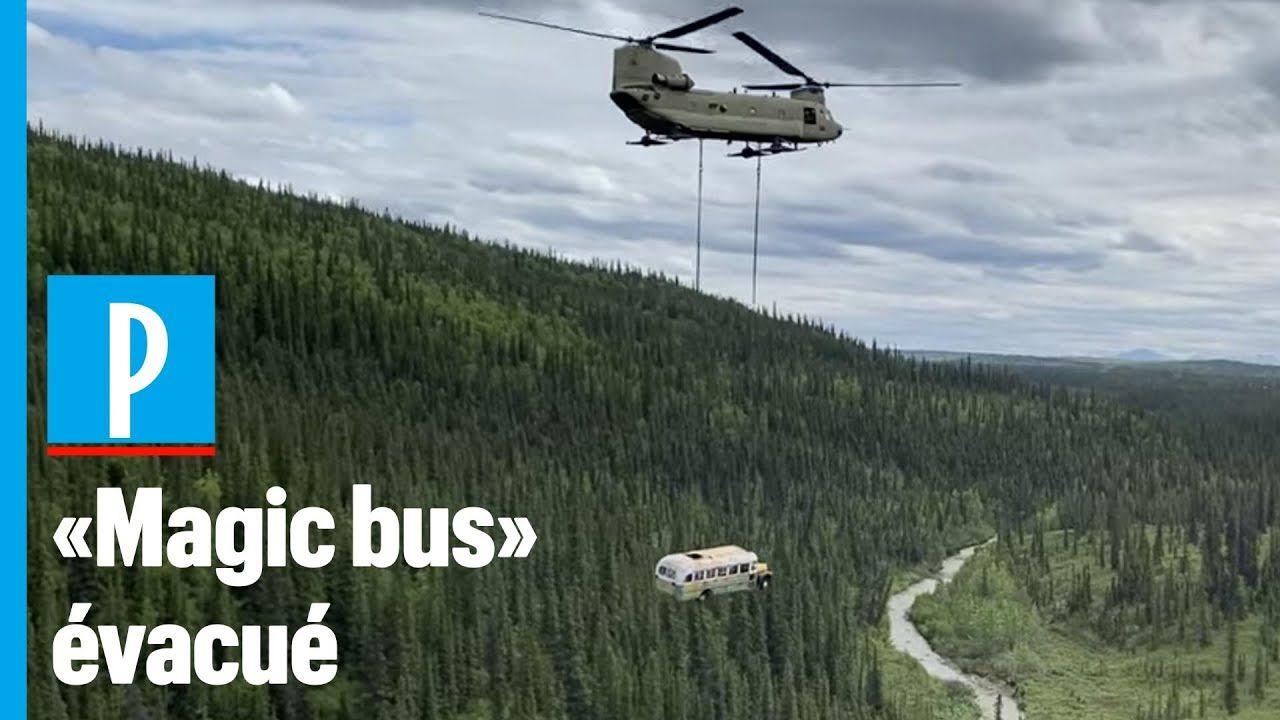 Alaska le célèbre bus du film « Into the Wild » déplacé