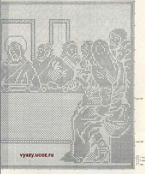 73 + + (583x700, 246Kb) | crochet sacro | Pinterest | Croché ...