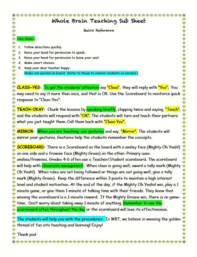 Revision checklist for essays