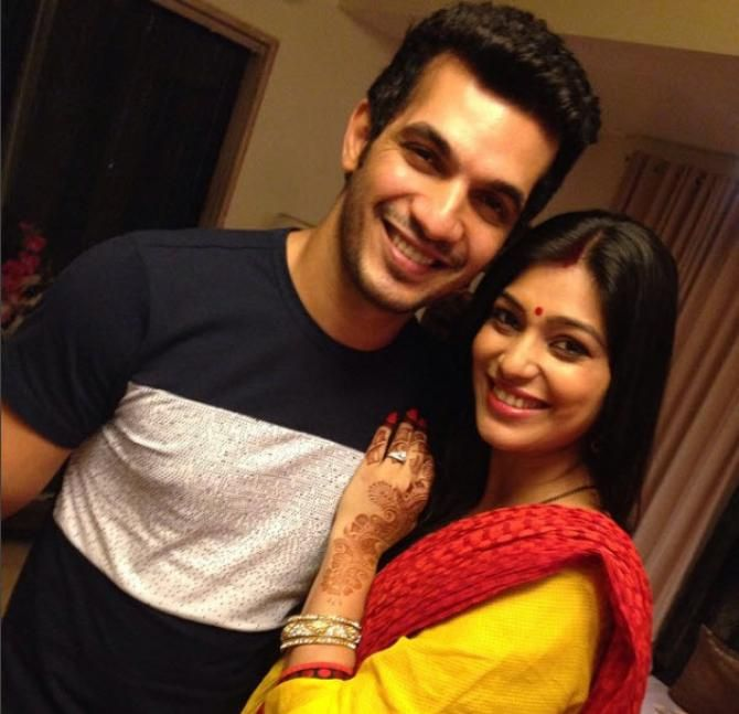 It Was Love At First Sight For Arjun But His Wife Neha Took