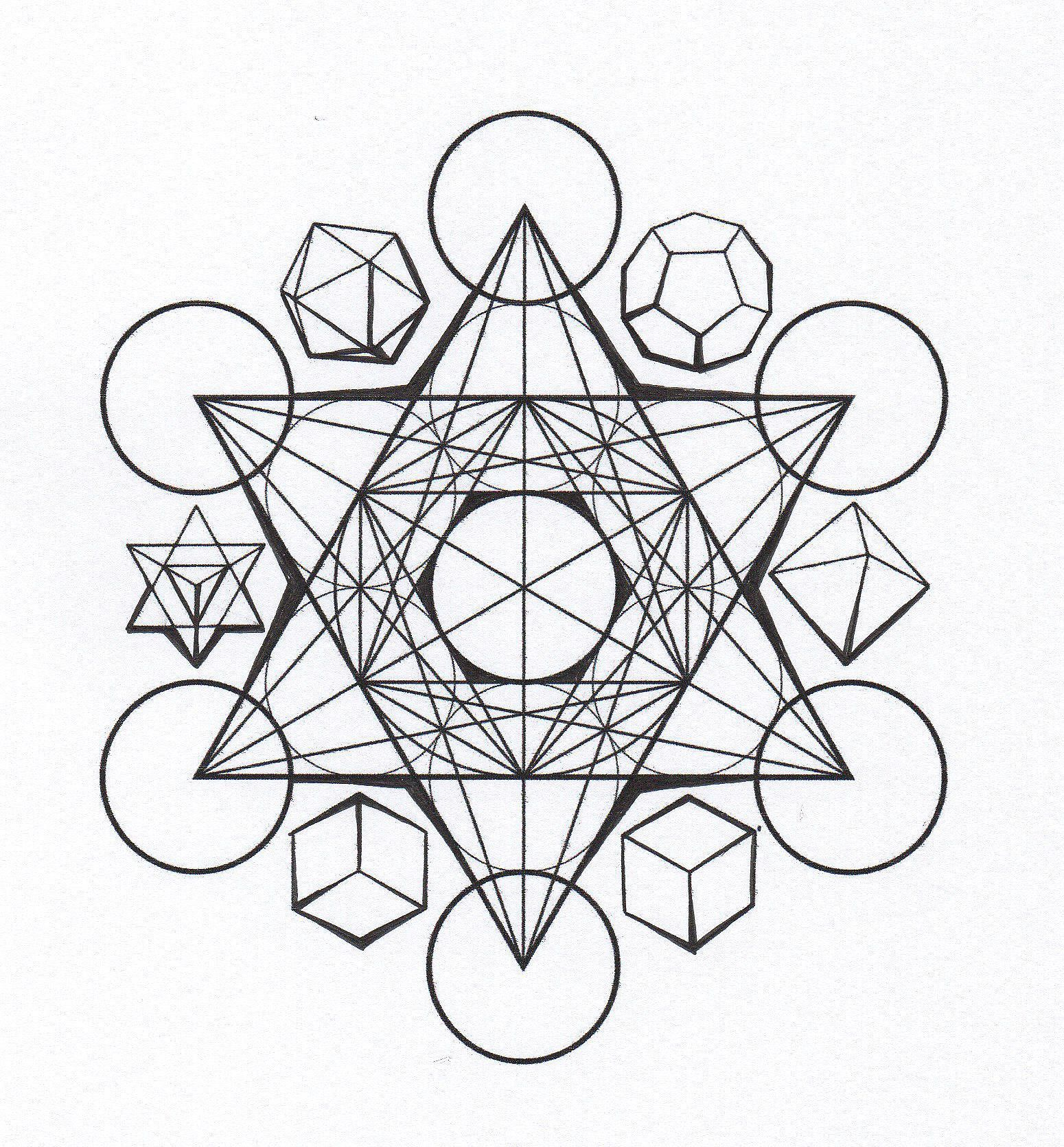The Platonic Solids Are Found In Sacred Geometry Sacred