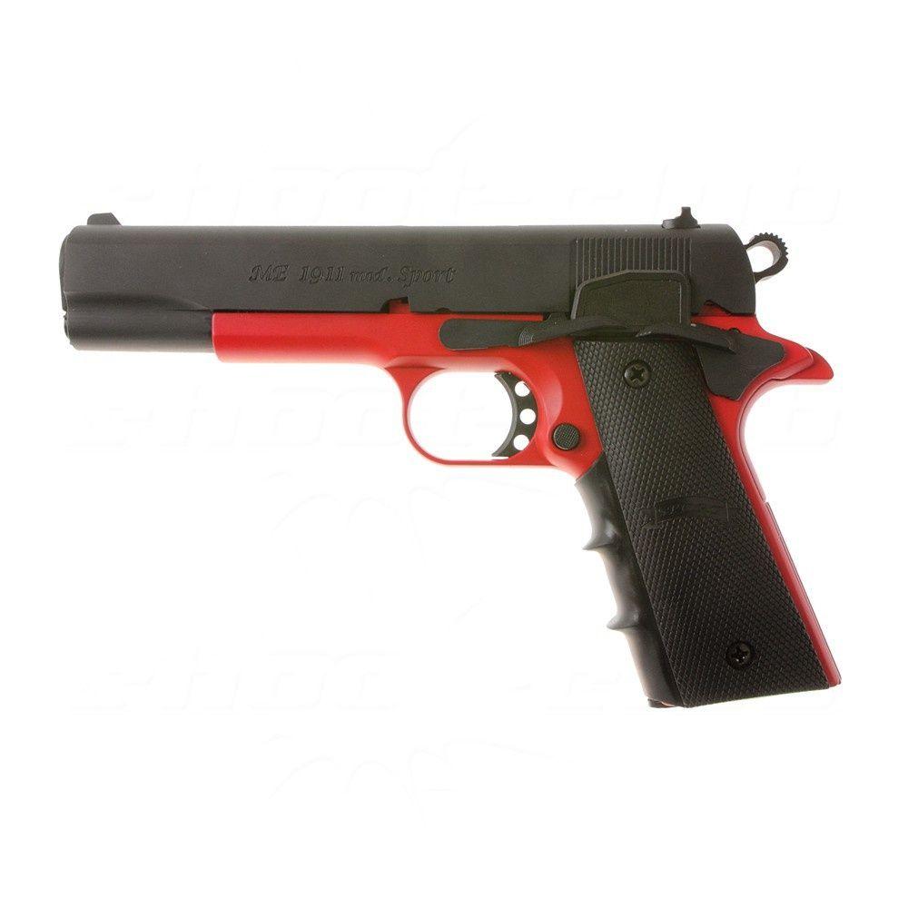 Me 1911 Colour Concept Black Red Schreckschusspistole Shootclub