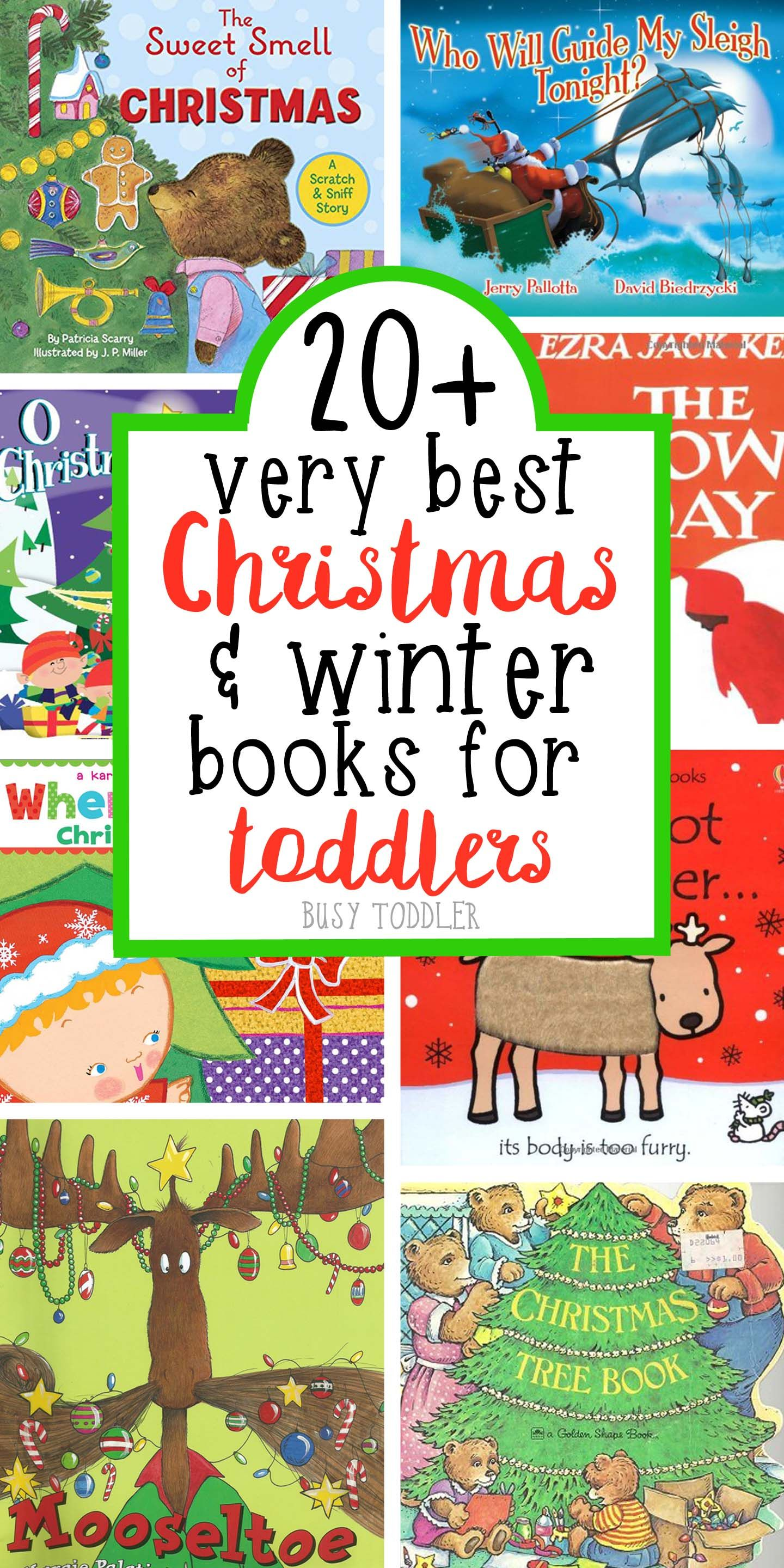 Best Christmas Books for Toddlers | Books for Kids | Pinterest ...